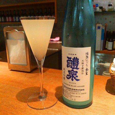 日本酒001 純米吟醸 醴泉(れいせん)