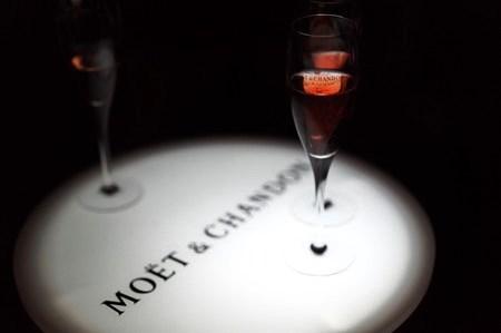 Moet Rose Lounge@六本木ヒルズ