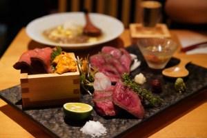 日比谷 超優良店!京都のような落ち着いた空間で厳選日本酒「肉と京料理かぐら有楽町」