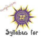 Computer Science Waec Syllabus