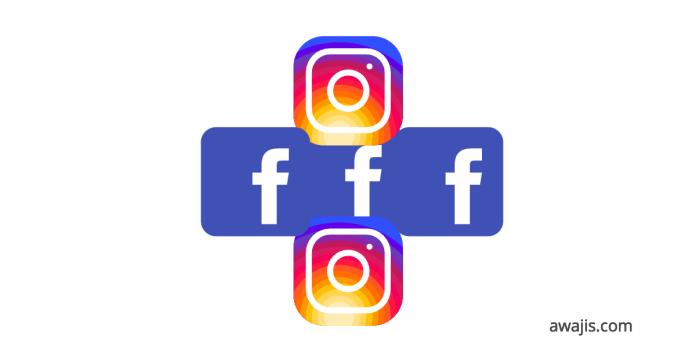 instagram login facebook