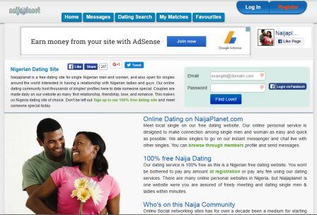 naijaplanet.com screenshot
