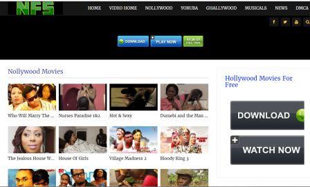 nigeriafilmz site screen shot