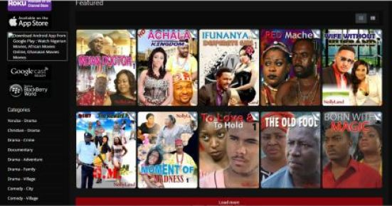 nollyland movies site screen shoot
