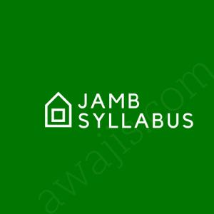 jamb syllabus 2018