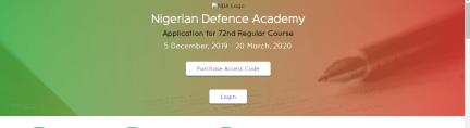 Nigerian Defense Academy Form