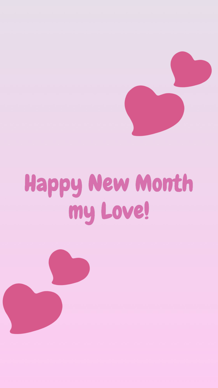 instagram happy new month love