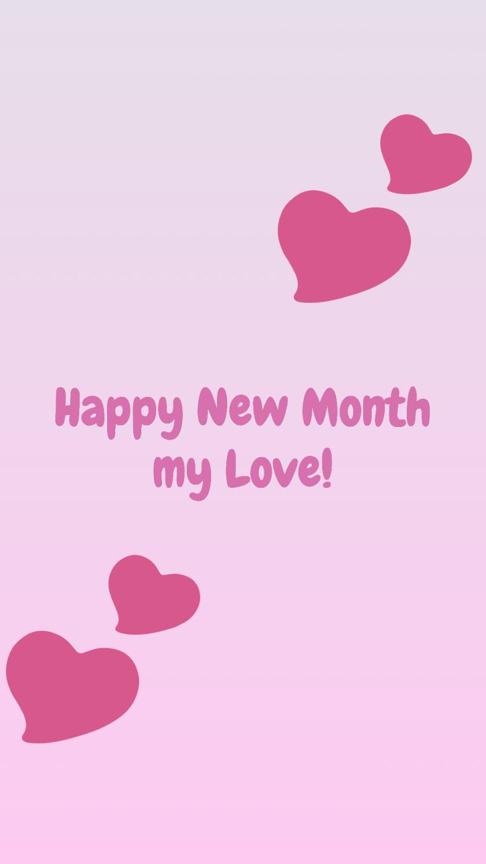 instagram happy new month love
