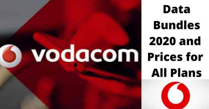 Vodacom Data Bundles 2020 and Prices for All Plans
