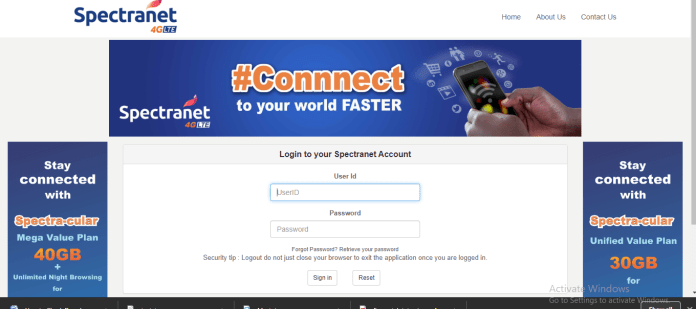 How to Check Spectranet Data Balance