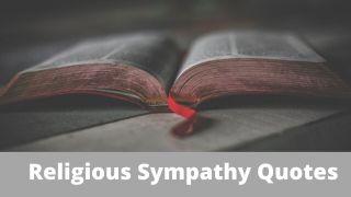 Religious Sympathy Quotes