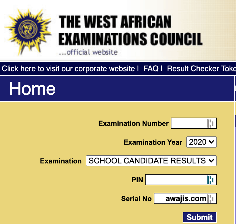 2020 waec results out