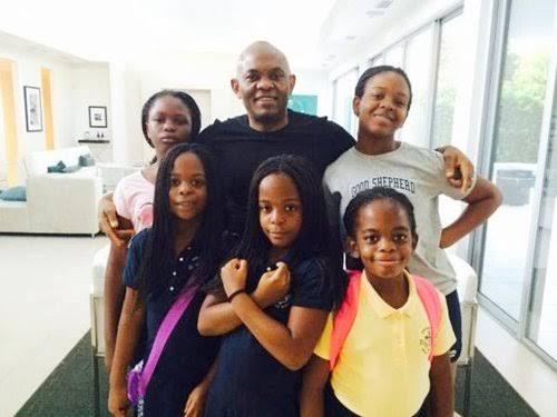 Tony Elumelu Family