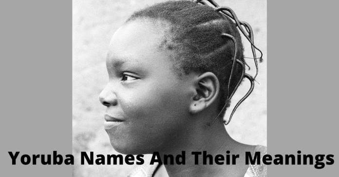 Yoruba Names And Its Meaning