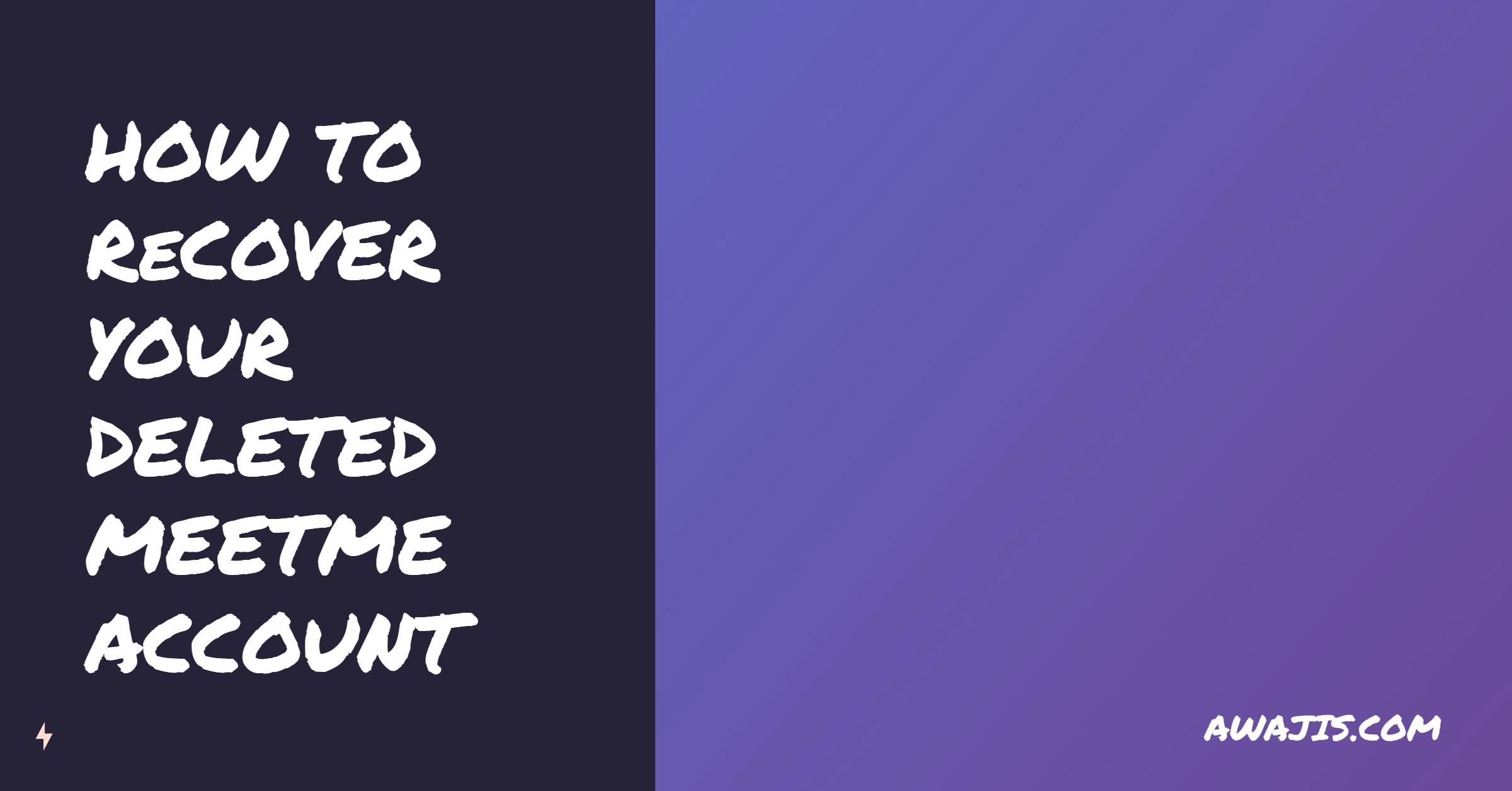 Meetme verify account