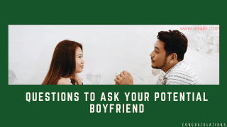 Questions to Ask a Potential Boyfriend