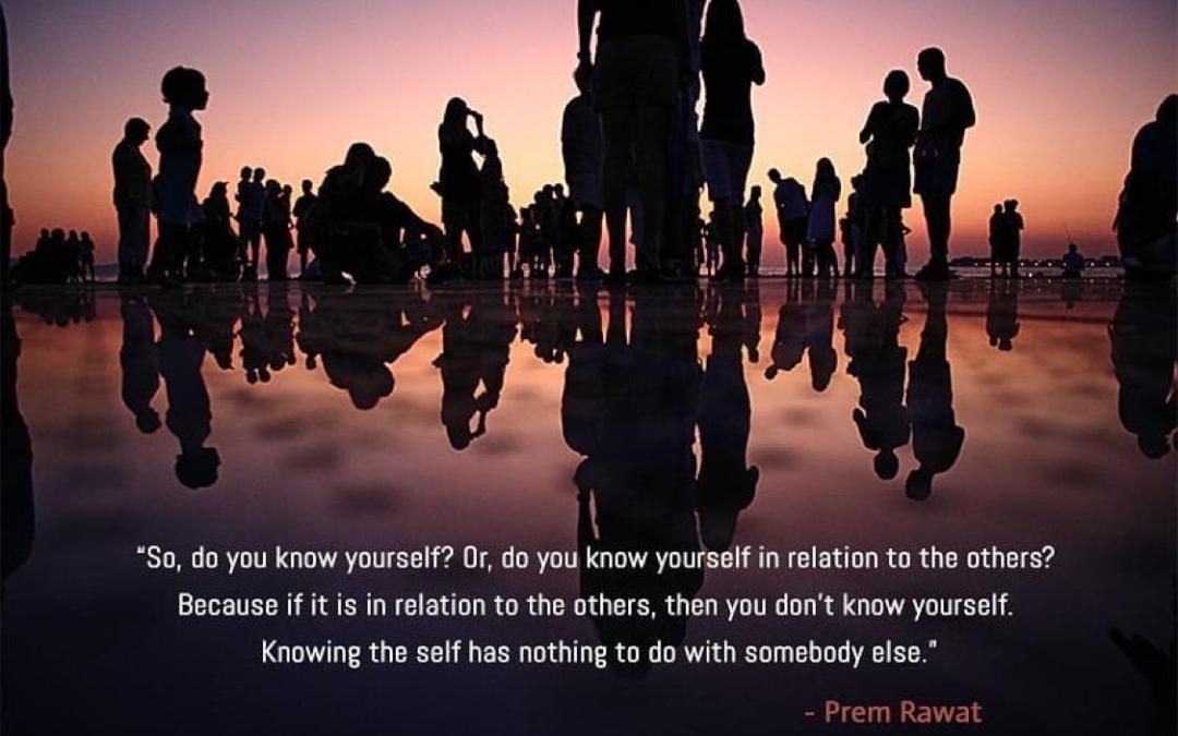 KNOWING YOURSELF