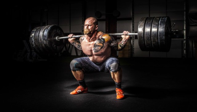 'Quick Weightlifting' Optimal for Health Recovering Man
