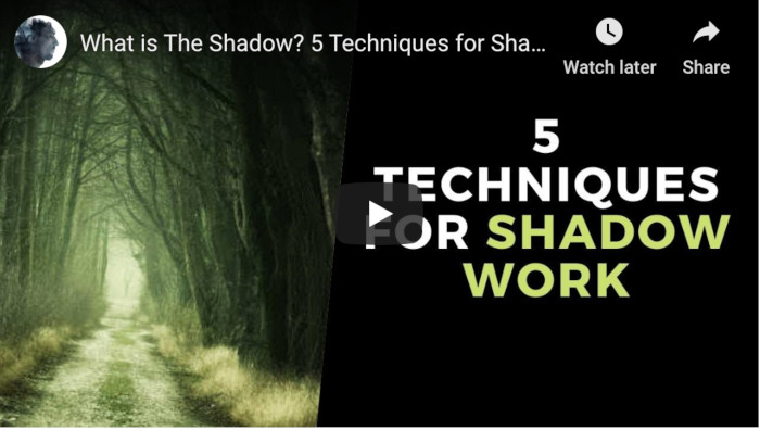 Watch: What is The Shadow? 5 Techniques for Shadow Work