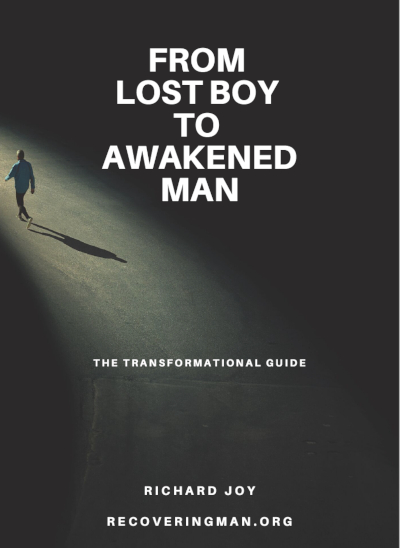 from lost boy to awakened man by recovering man book