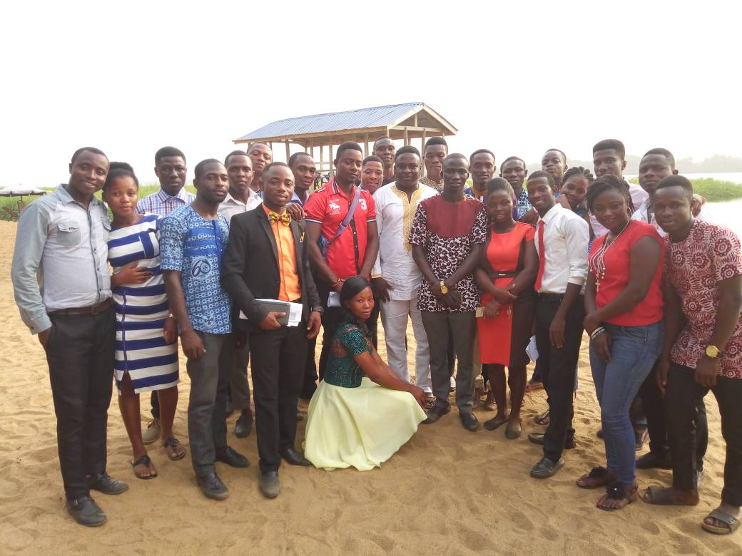 Mr. Agboni Nicholas Kelvin's Acceptance Speech
