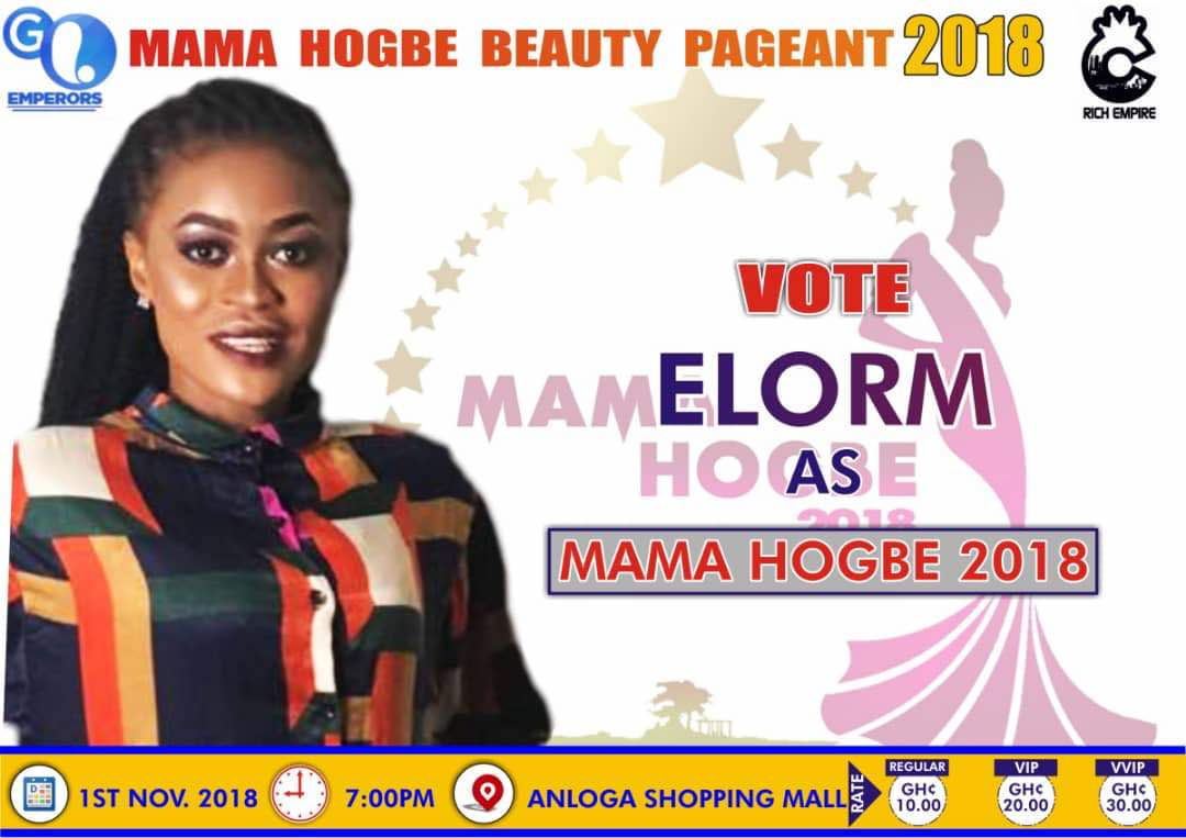 Mama Hogbe 2018 contestant, ELORM wants to use Fashion to fight poverty