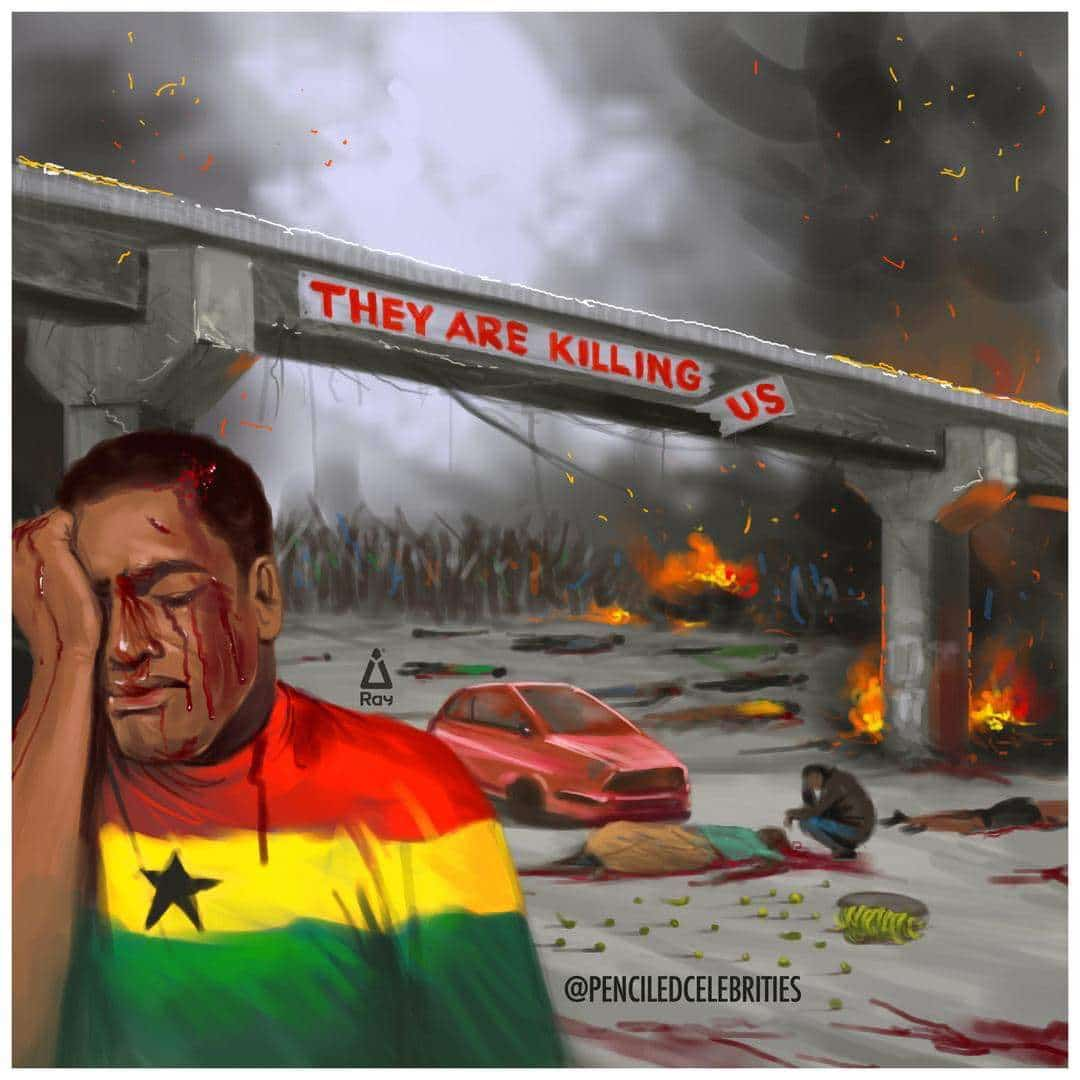 PenciledCelebrities tells the plights of Adentan (PHOTO) » Awake News