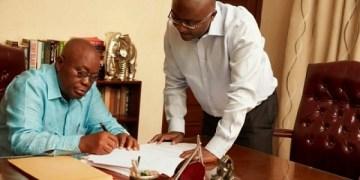 Akufo-Addo and Bawumia