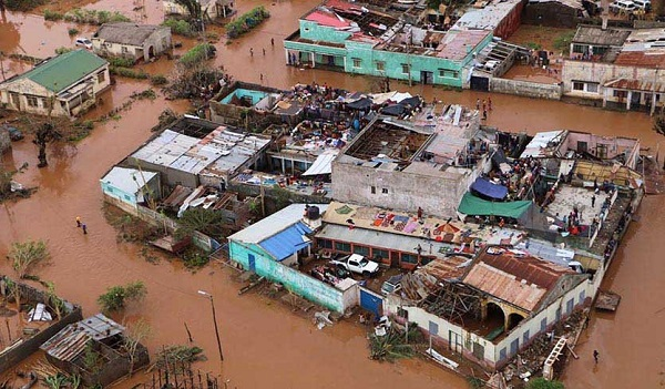 Cyclone Idai: UNHCR-Ghana airlifts relief items to Mozambique; calls for more support