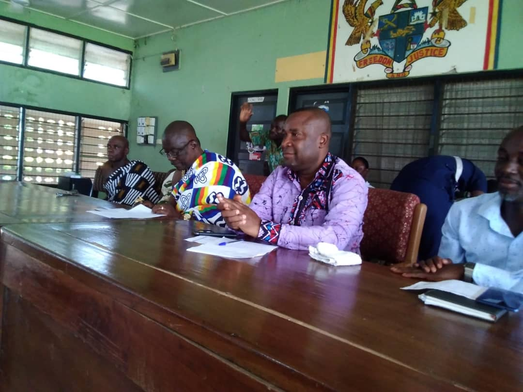 Krachi West District Assembly supports PWDs with industrial machines and other items