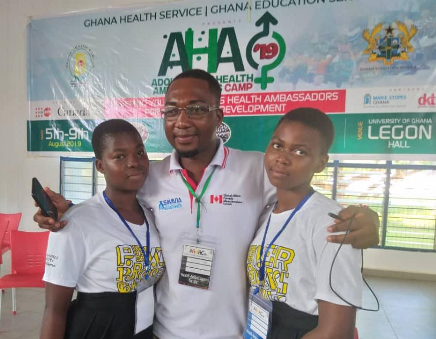 """Movement for Change'' group wins National Adolescent Health Ambassadors Pitching Challenge"