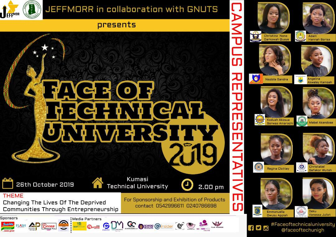 Meet the contestants of Face of Technical University 2019