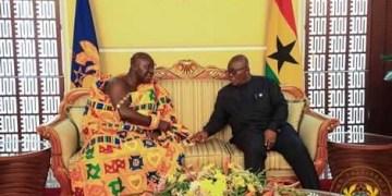 Otumfuo and Nana Addo