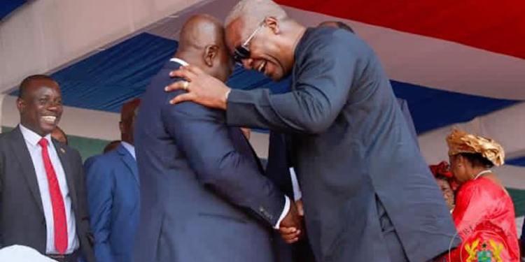 John Mahama and Akuffo-Addo