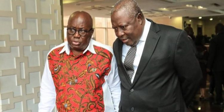 Martin Amidu and Nana Addo