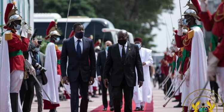 President Nana Akufo-Addo attends swearing-in ceremony of President of the Republic of Côte d'Ivoire