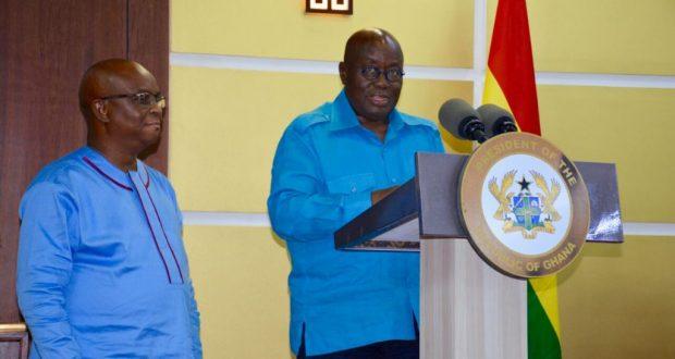 Akufo-Addo and Dr. Letsa