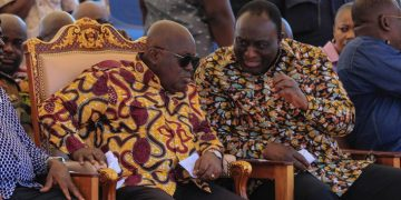 President Akufo-Addo and Alan Kyerematen