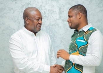 Efo worlanyo Tsekpo and John Mahama
