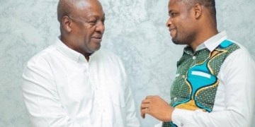 Efo worlanyo Tsekpo and John Mahama