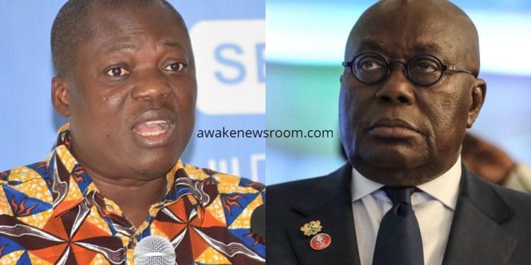 Prof. John Gatsi and Akufo-Addo