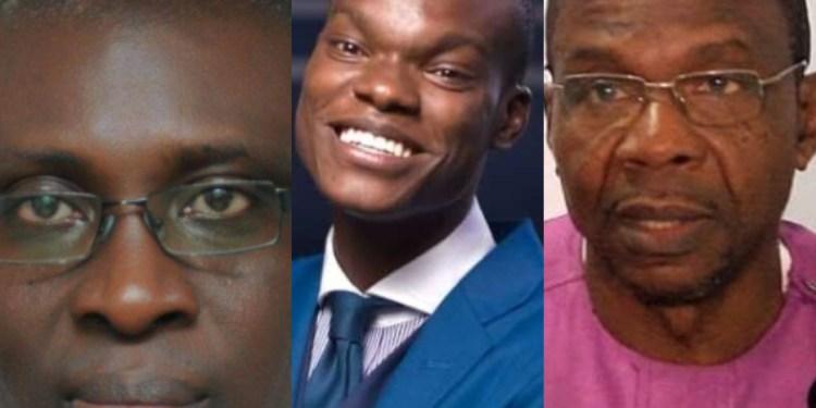 Affail Monney, Caleb Kudah and Kofi Yaboah