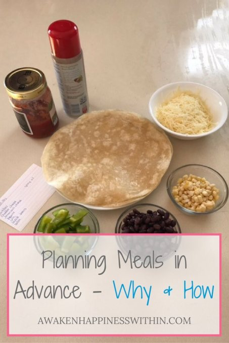 Advanced Meal Planning, Planning Meals in Advance, Easy Meal Planning, Health and Wellness