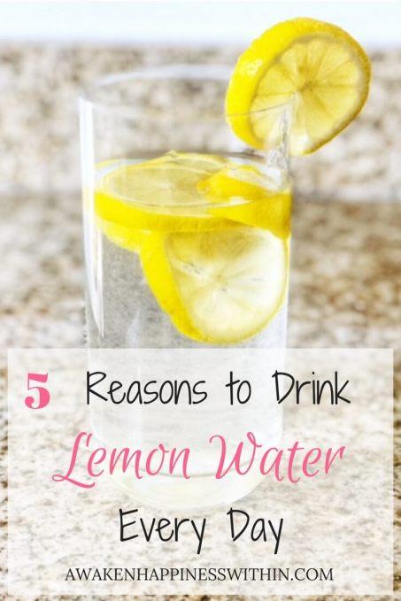 5 Benefits of Drinking Lemon Water - Awaken Happiness Within