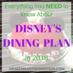 Learn everything you need to know about the Disney Dining Plan options and figure out if it's worth it!