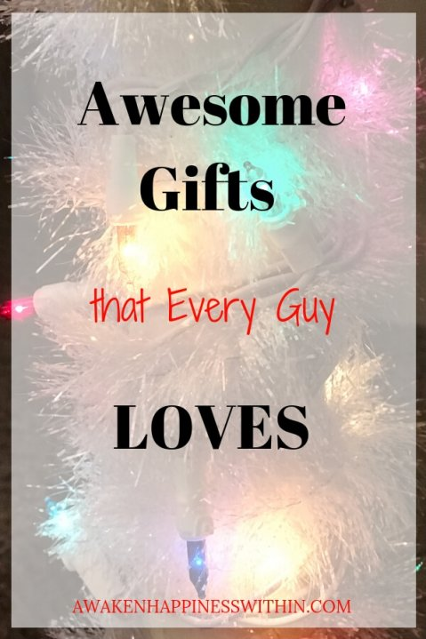 Any of these gifts will make any guy happy!