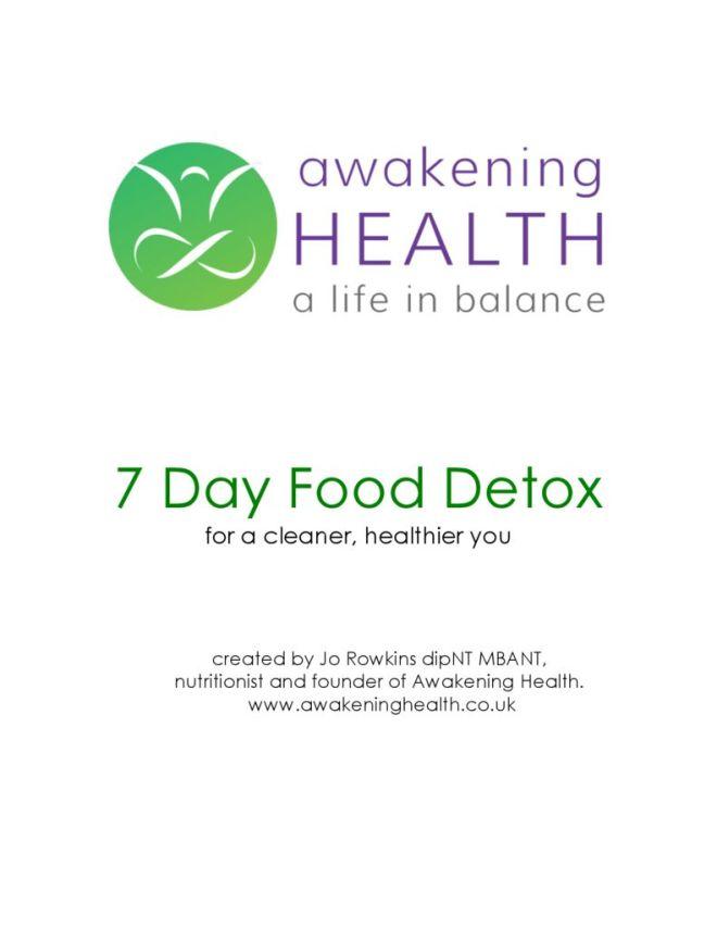 thumbnail of Awakening-health-7-day-food-detox ebook
