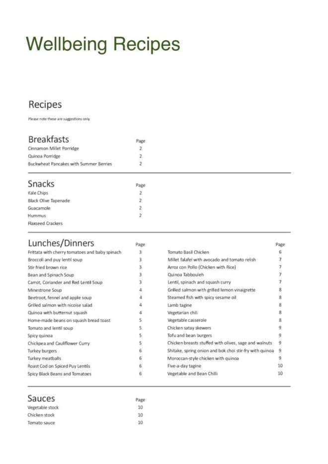 thumbnail of Wellness Recipes