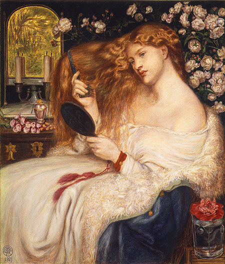 Rossetti_lady_lilith_1867