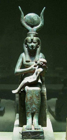 Isis-with-child-Horus